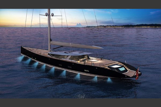 A 50-Meter Luxury Sailboat Called Sloop