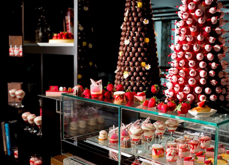 Strawberry Chocolate Fantasy at Ritz-Carlton, Hong Kong