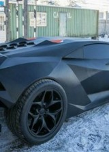 30-Years Old Volvo Transformed Into $2 Million Lamborghini