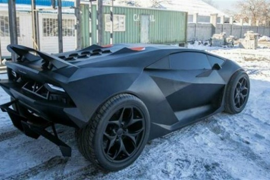 Volvo Transformed Into $2 Million Lamborghini