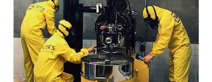 World's First Coffee Super Lab - Breaking Bad Themed Coffee Shop in Istanbul, Turkey