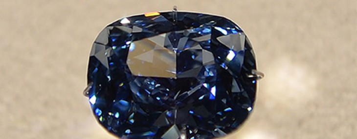 12.03 Carat Blue Moon Diamond Could Fetch $55 Million At Sotheby's Auction