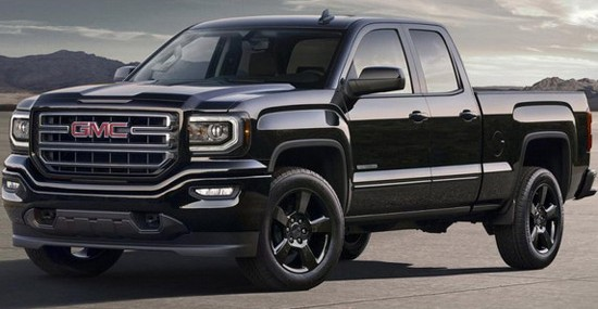 New 2016 GMC Sierra Elevation Edition
