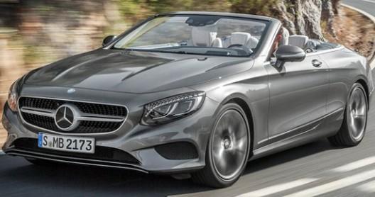 2016 Mercedes S-Class Convertible