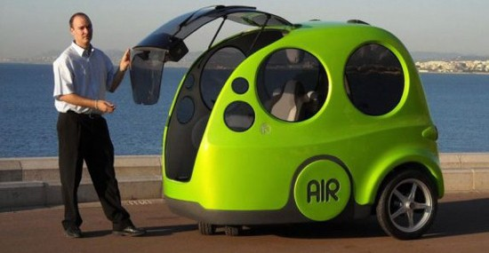 AIRPod – The First Compressed Air-Powered Car
