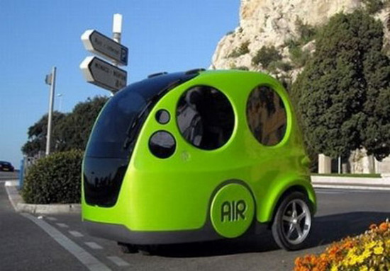 Zero Pollution Motors >> AIRPod - The First Compressed Air-Powered Car - eXtravaganzi