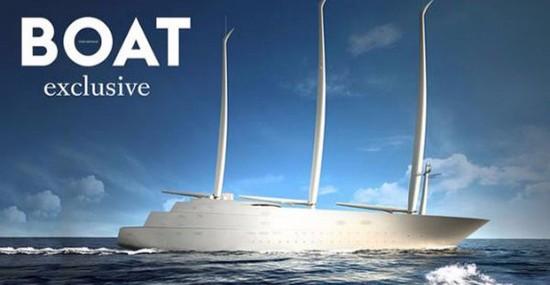 Andrey Melnichenko's New $450 Million Yacht