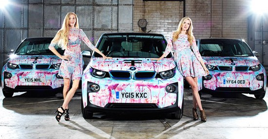 BMW i3 Is The Official Car At London Fashion Week