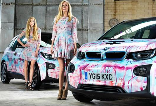 BMW i3 Model At London Fashion Week