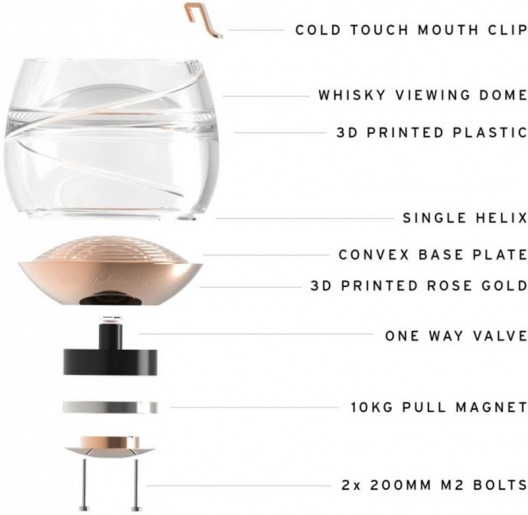 Ballantine's Space Glass For Sipping Whiskey In Microgravity