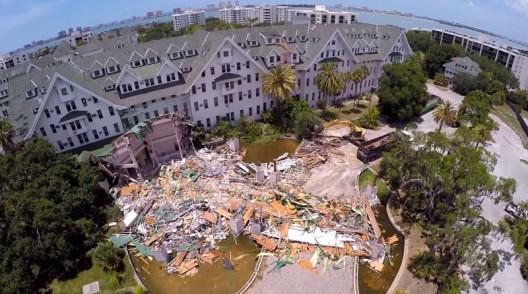 Demolition Underway At Florida's Historic 820,000 Sq. Ft. 'Belleview Biltmore Resort & Spa