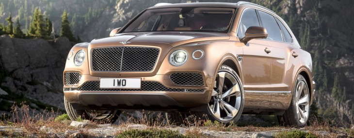Bentley Bentayga – Fastest, Most Powerful And Most Luxurious SUV In The World
