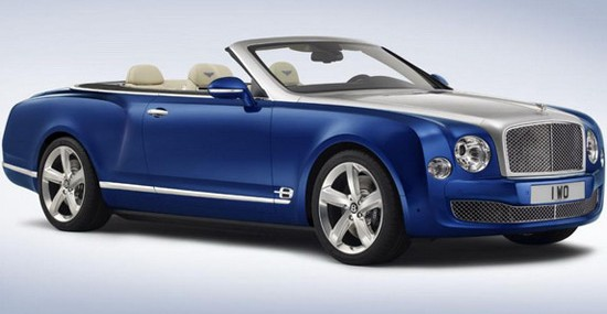 Bentley Mulsanne Grand Convertible Ready For 2017