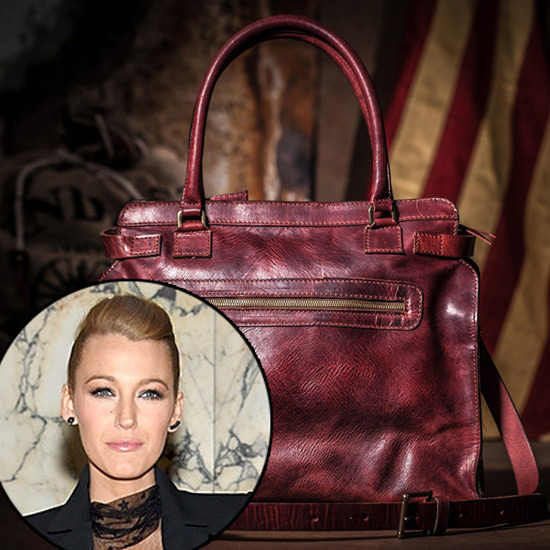 Blake Lively designs $860 diaper bag