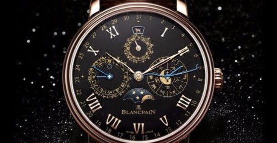 Blancpain Villeret Traditional Chinese Calendar Watch At Charity Auction