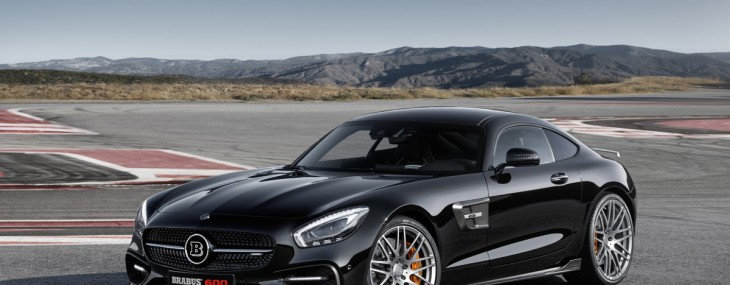 BRABUS-Refined Mercedes-AMG GT S At IAA 2015