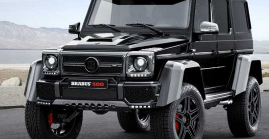 Luxury And Wild Brabus Mercedes G 500 4×4²