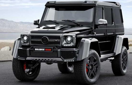 Brabus Mercedes G 500 4×4²