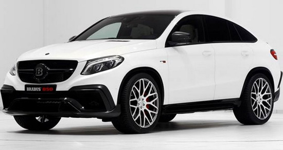 Brabus Mercedes GLE Coupe 850 Biturbo
