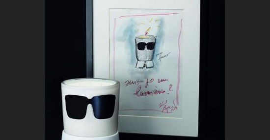 """""""Candle Karl"""" – New Scent Of Karl Lagerfeld's Candle Collection"""