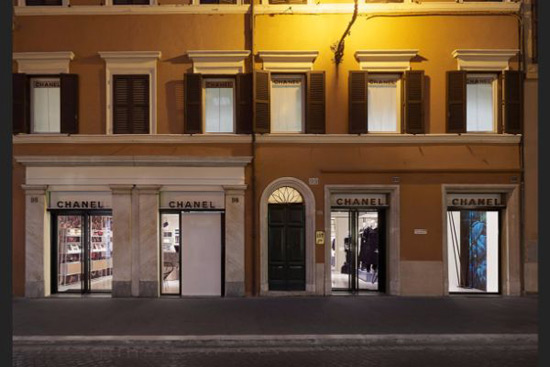 Chanel Boutique In Rome