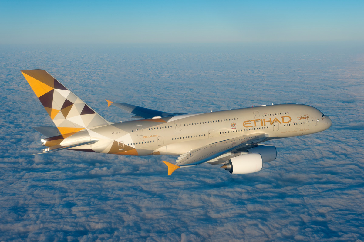 Etihad Airways and Chapman Freeborn announce Airbus A380 and private jet collaboration