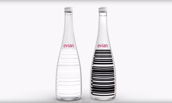 Evian Water By Alexander Wang