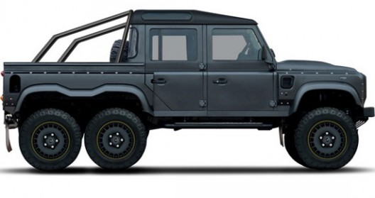 Flying Defender Huntsman 110 6x6 Double Cab Pickup