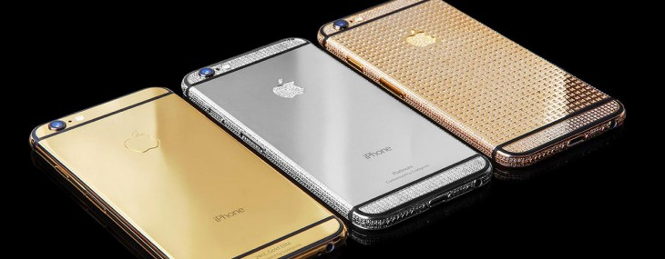 Pre-Order Your Goldgenie's Customised iPhone 6s!