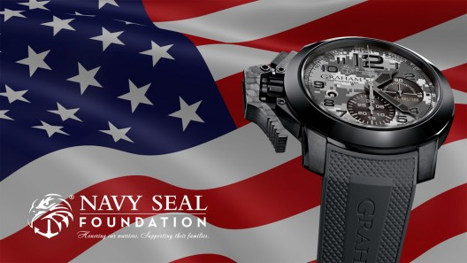 Graham Teamed Up With The Navy SEAL Foundation For Limited Edition Watch