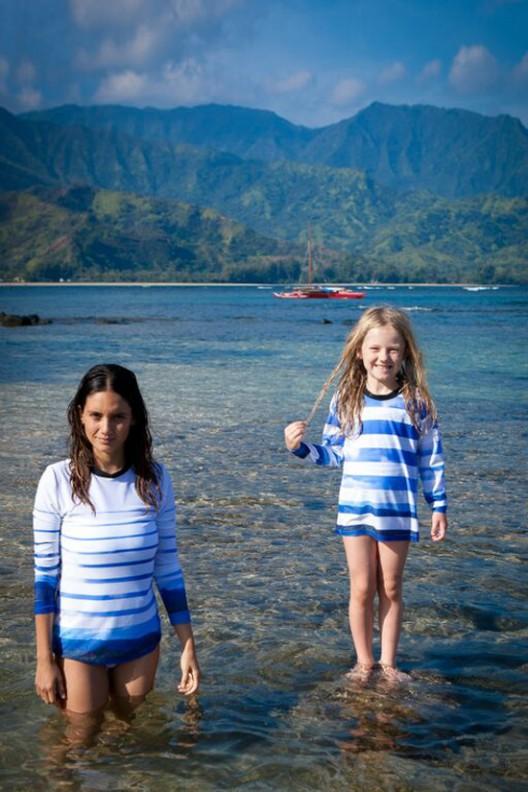 Heidi Merrick's Beachwear Collection for Kauai's St. Regis Princeville Resort