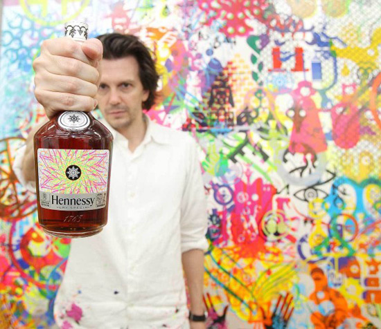 Hennessy V.S by Ryan McGinness