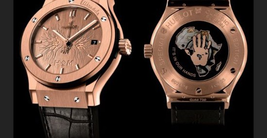Hublot Pays Tribute To Nelson Mandela