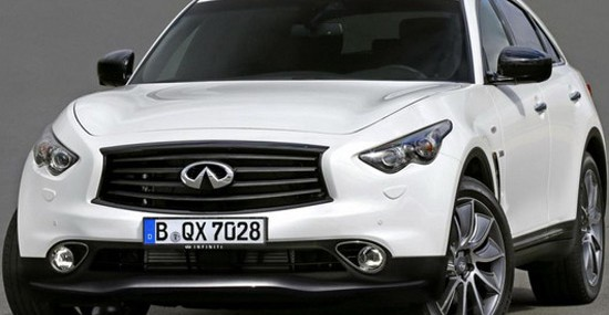 Infiniti QX70 Ultimate Limited Edition