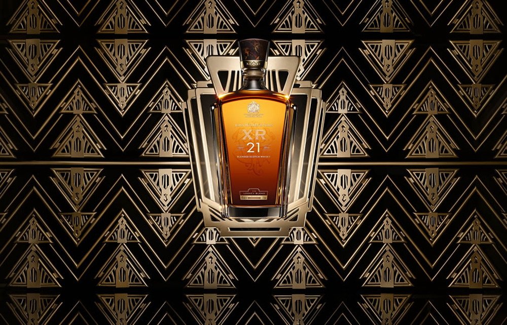 An Ode To Art Deco - JOHN WALKER & SONS XR 21 Year Old
