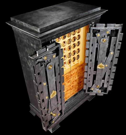 Döttling's Morosini Safe Once Owned By Victor Emmanuel II