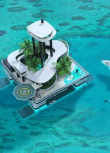 Kokomo Floating Island – World's Only Island For Private Superyachts And Submarines