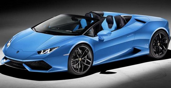 Lamborghini Huracan Spyder – Speed With The Wind In Your Hair
