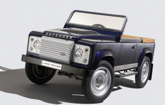 Land Rover Defender On Pedals
