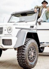 Lewis Hamilton Wants To Buy Mercedes G63 AMG 6×6