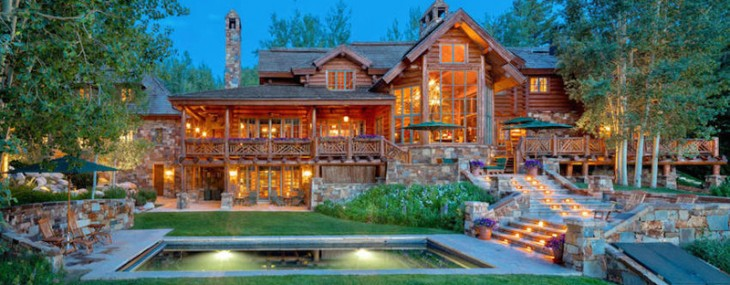 Magnificent Lodge-style Residence in Aspen Can Be Yours For $17,95 Million