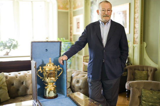 Louis Vuitton's Case For Rugby World Cup