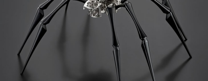 MB&F Arachnophobia – Giant Spider Which Tells Time