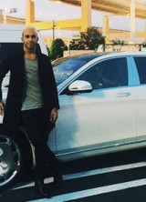 Lewis Hamilton Poses With His $258,000 Mercedes Maybach