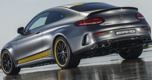 Mercedes-AMG C63 Coupe With Edition 1 Package