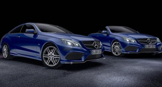 Mercedes E -Class Coupe And Cabrio