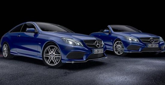Mercedes E -Class Coupe And Cabrio Sport Edition