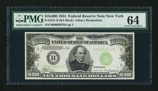 National Bank Note Rarities At Heritage Auctions' Long Beach Currency Signature Auction