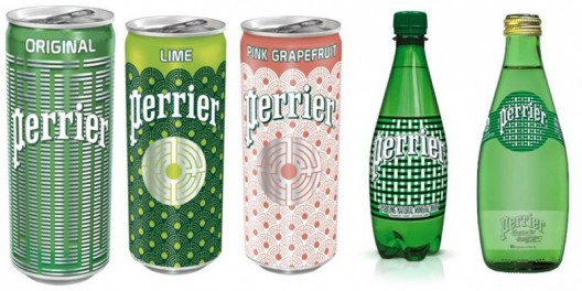 Perrier's Limited edition L'Atlas-inspired Bottles