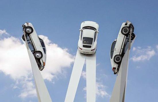 Porsche Sculpture